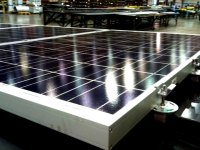 Solar Flare - Crystalline Panels