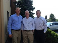 """Zurn GMs prior to being """"buzzed"""" (l to r): Scott McDowell, Chris Connors, and Craig Wehr"""